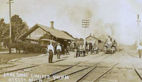 LSMS Otsego Station and Train